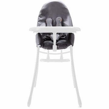 Bloom Nano Highchair with White Frame in Snakeskin Grey