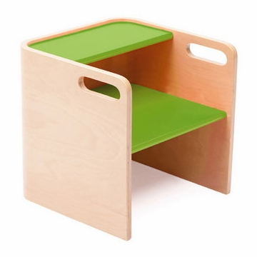 Bloom Pogo 3 in 1 Step Stool in Natural/Gala Green