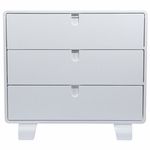 Bloom Retro Dresser in White