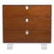 Bloom Retro Dresser in White & Oak