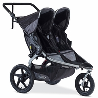 BOB 2016 Revolution FLEX Duallie Double Stroller - Black