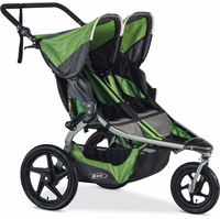 BOB 2016 Revolution Flex Duallie Double Stroller - Meadow