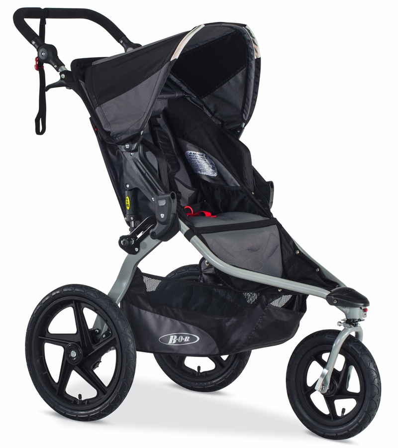 Bob Revolution Flex 2016 Single Stroller Black