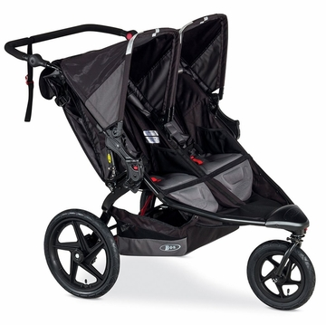 BOB Revolution FLEX Duallie Double Stroller - Black