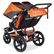 BOB Revolution FLEX Duallie Double Stroller - Orange