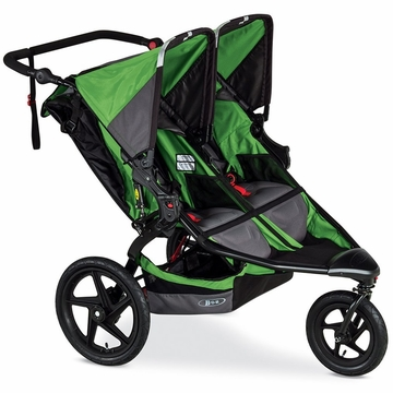 BOB Revolution FLEX Duallie Double Stroller - Wilderness