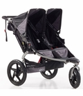 BOB Revolution SE Duallie Double Stroller - Black