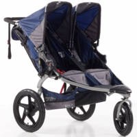 BOB Revolution SE Duallie Double Stroller - Navy