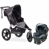 BOB Revolution SE Travel System - Black
