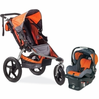 BOB Revolution SE Travel System - Orange