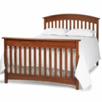 Bonavita Casey Full Size Bed Rail in Chestnut