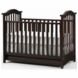 Bonavita Classic Hudson Crib in Chocolate