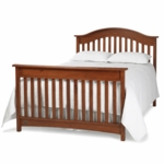 Bonavita Easton Full Size Bed Rail in Chestnut