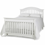Bonavita Easton Full Size Bed Rail in Classic White