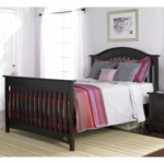 Bonavita Easton Full Size Bed Rail in Espresso