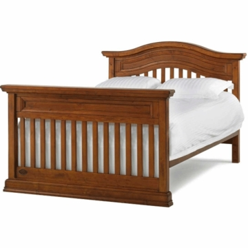 Bonavita Sheffield Full Size Bed Rail in Distressed Country Wheat