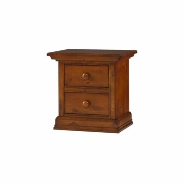 Bonavita Sheffield Nightstand in Distressed Country Wheat