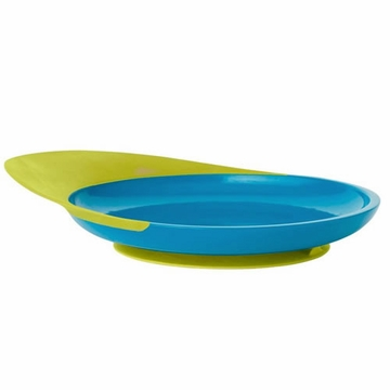 Boon CATCH PLATE with Spill Catcher - Blue & Green