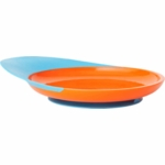 Boon CATCH PLATE With Spill Catcher - Orange & Blue