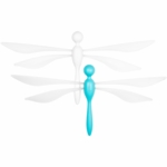 Boon Fli Ceiling Mounted Dragon Fly Mobile 2 Pack in Blue Raspberry & Coconut