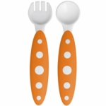 Boon ModWare Toddler Utensils Orange