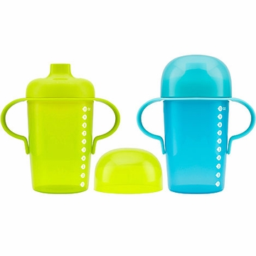 Boon Sip 10oz. Sippy Cups - 2 Pack - Green & Blue