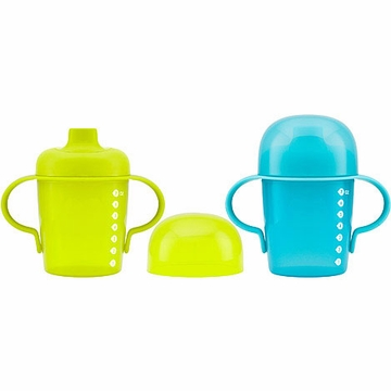 Boon Sip 7oz. Sippy Cups - 2 Pack - Green & Blue