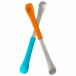 Boon SWAP 2-IN-1 Feeding Spoon - Blue & Orange