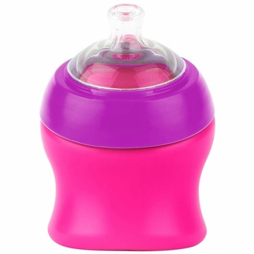 Boon SWIG Short Top Sippy Cup - Pink & Purple