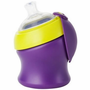 Boon SWIG Short Top Sippy Cup - Purple & Green