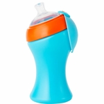 Boon SWIG Tall Spout Top Sippy Cup - Blue & Orange