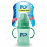 Born Free Bisphenol-A Free Plastic 7oz Training Cup - Colors Vary