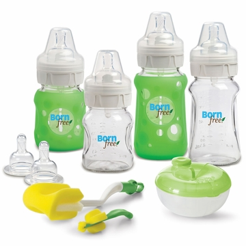 Born Free Glass Bottle Gift Set
