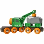 Brio Clever Crane Wagon & Vehicle