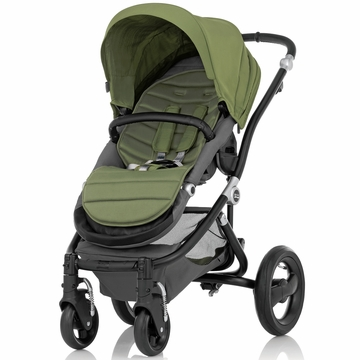 Britax Affinity Complete Stroller, Black - Cactus Green