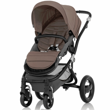 Britax Affinity Complete Stroller, Black - Fossil Brown