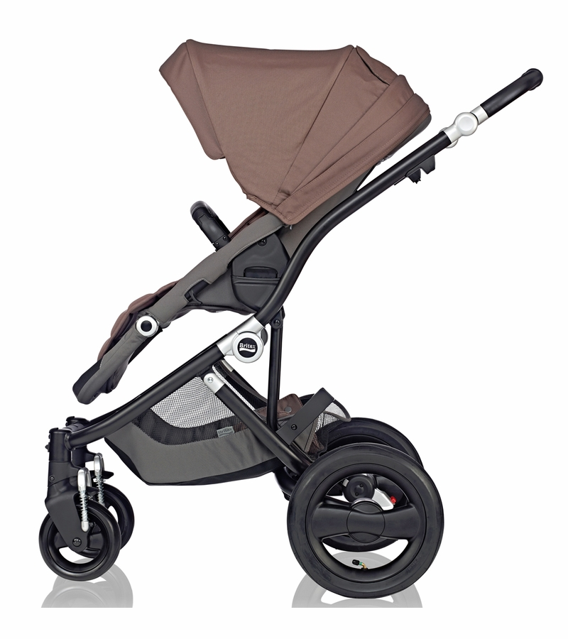 Black stacking chairs - Britax Affinity Complete Stroller Black Fossil Brown