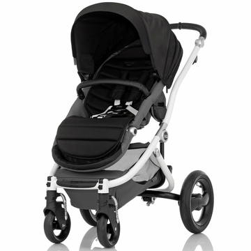 Britax Affinity Complete Stroller, White - Black