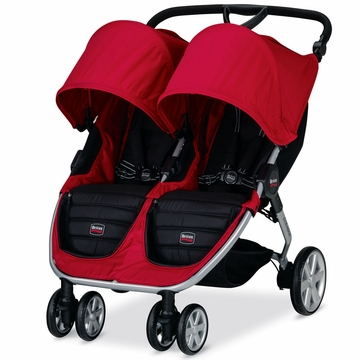 Britax B-Agile 2014 Double Stroller - Red