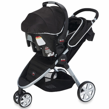 Britax B-Agile Travel System 2014 Black