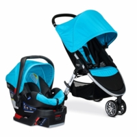Britax B-Agile 3 & B-Safe 35 Elite Travel System 2016 - Cyan