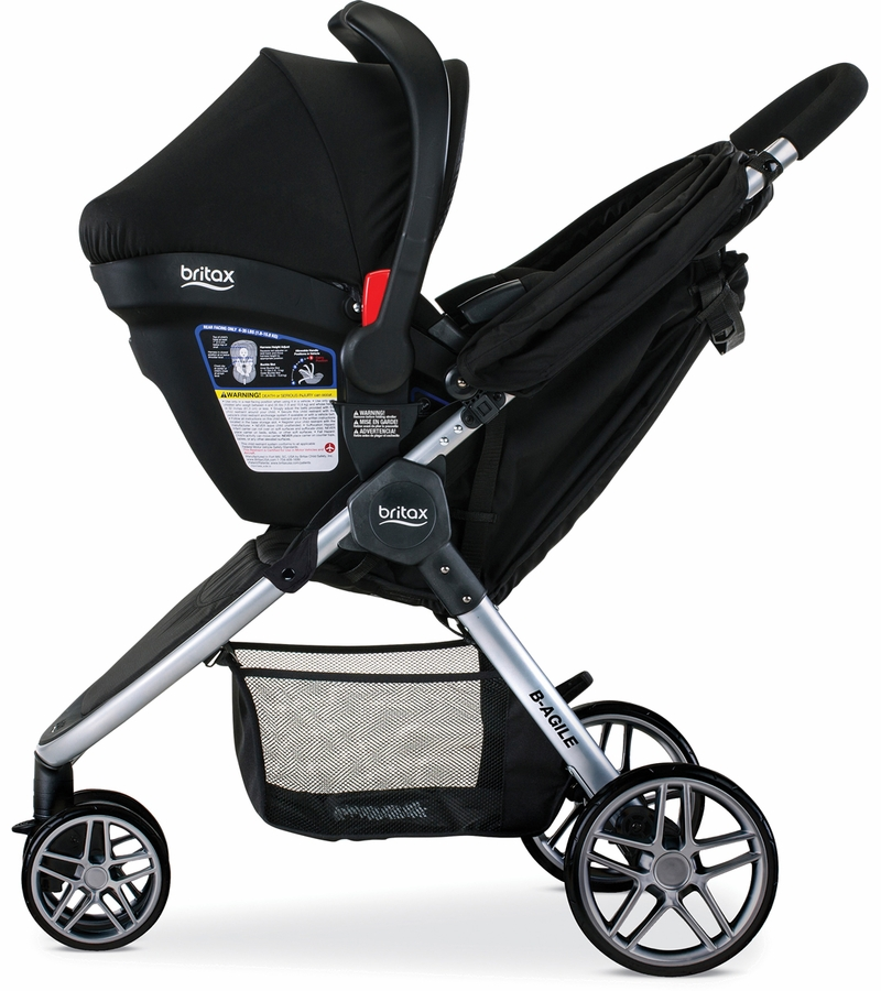 Britax B-Agile 3 & B-Safe 35 Elite Travel System 2016 - Domino