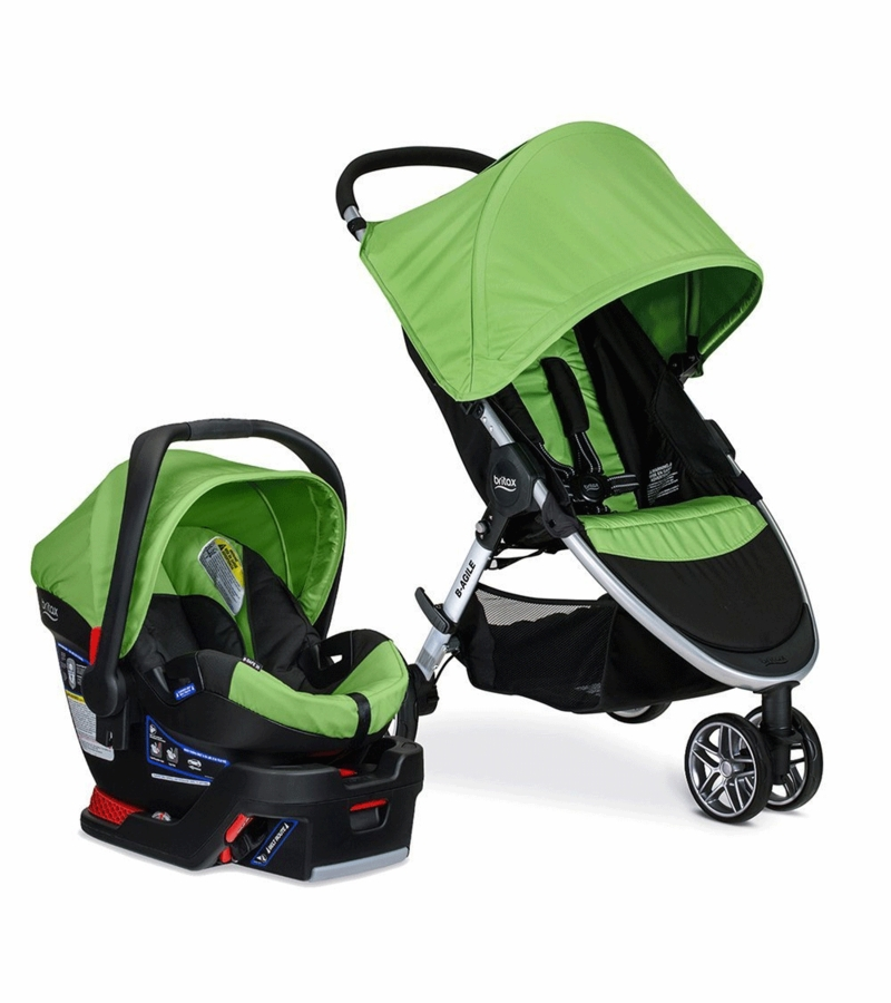 Britax B-Agile 3 & B-Safe 35 Travel System 2016 - Meadow