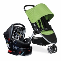 Britax B-Agile 3 & B-Safe 35 Elite Travel System - Meadow / Cowmooflage