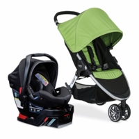 Britax B-Agile 3 & B-Safe 35 Elite Travel System - Meadow / Domino
