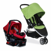 Britax B-Agile 3 & B-Safe 35 Elite Travel System - Meadow / Meadow Pepper