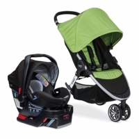 Britax B-Agile 3 & B-Safe 35 Elite Travel System - Meadow / Prescott