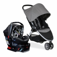 Britax B-Agile 3 & B-Safe 35 Elite Travel System - Steel / Cowmooflage