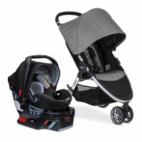 Britax B-Agile 3 & B-Safe 35 Elite Travel System - Steel / Prescott