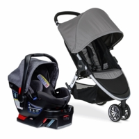 Britax B-Agile 3 & B-Safe 35 Elite Travel System - Steel / Vibe